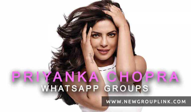 Priyanka Chopra WhatsApp Groups