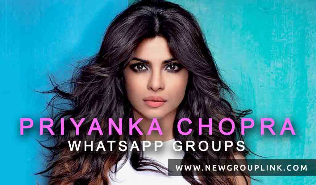 Priyanka Chopra WhatsApp Groups 2