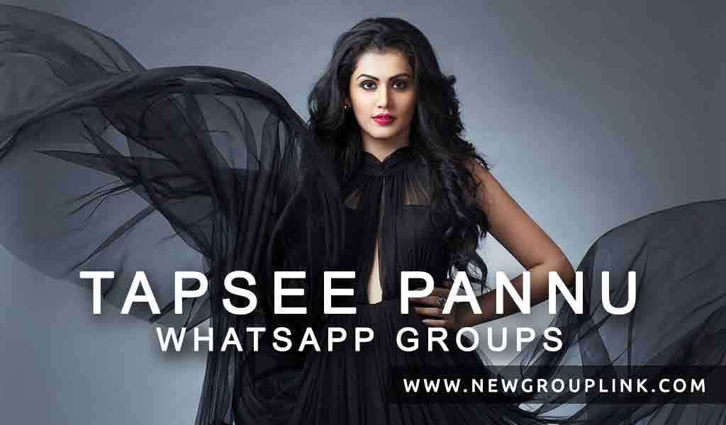 Tapsee Pannu WhatsApp Groups 2